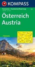 Kompass Karte Österreich; Austria; Austriche