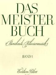 Das Meisterbuch, Klavier - Bd.1