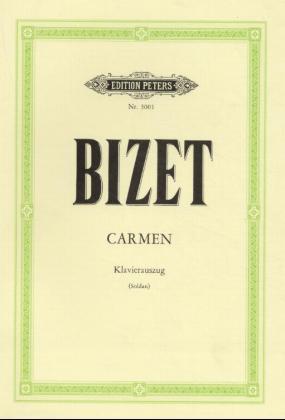 Carmen, Klavierauszug