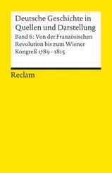 Deutsche Geschichte in Quellen und Darstellung - Bd.6