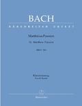 Matthäuspassion, BWV 244, Klavierauszug