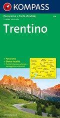 Kompass Karte Trentino