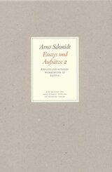Werke, Bargfelder Ausgabe, Werkgr.3: Essays und Aufsätze - Tl.2