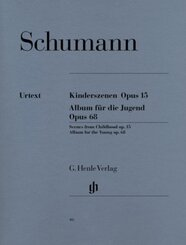 Album für die Jugend op.68,  Kinderszenen op.15, Klavier