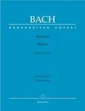 Motetten BWV 225-230, Partitur