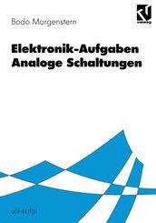 Elektronik-Aufgaben: Elektronik-Aufgaben Analoge Schaltungen