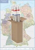 Busche Map Postleitzahlenkarte Deutschland, Planokarte
