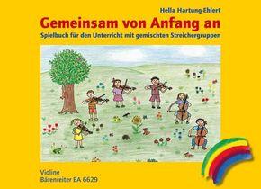 Gemeinsam von Anfang an, Spielbuch Violine