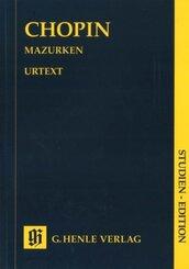 Mazurken, Klavier, Studien-Edition