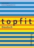 topfit Deutsch, Neuausgabe: Rechtschreiben für die Jahrgangsstufen 5/6 - H.1