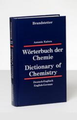 Wörterbuch der Chemie, Deutsch-Englisch/Englisch-Deutsch - Dictionary of Chemistry, German-English/English-German