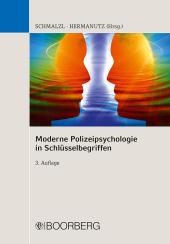 Moderne Polizeipsychologie in Schlüsselbegriffen