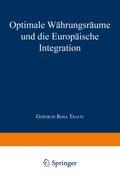 Optimale Währungsräume und die europäische Integration