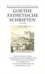 Sämtliche Werke, Briefe, Tagebücher und Gespräche: Ästhetische Schriften 1771-1805; 1. Abteilung: Sämtliche Werke; 18