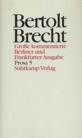 Werke, Große kommentierte Berliner und Frankfurter Ausgabe: Prosa; Bd.20 - Tl.5
