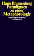 Paradigmen zu einer Metaphorologie