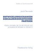 Entwicklungschancen sozialdemokratischer Parteien
