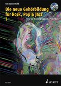 Die neue Gehörbildung für Rock, Pop & Jazz, m. MP3-CD+ CD-ROM - New EAR Training for Rock, Pop & Jazz, w. MP3-CD+ CD-ROM - Bd.1