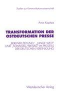 Transformation der ostdeutschen Presse
