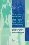 Depressionsstationen/Stationäre Depressionsbehandlung