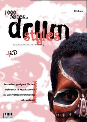 1000 Faces of Drum Styles, m. Audio-CD