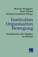 Institution Organisation Bewegung