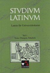 Studium Latinum, in 2 Tln.: Texte, Übungen, Vokabeln