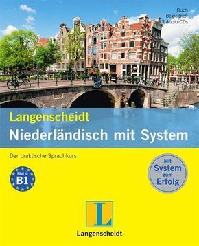 Langenscheidt Niederländisch mit System, Buch, Begleitheft und 3 Audio-CDs