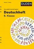 Deutschheft 6. Klasse