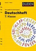 Deutschheft 7. Klasse