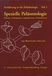 Spezielle Paläontologie, Würmer, Arthropoden, Lophophoraten, Echinodermen