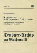 Korrespondenz Adrien-Marie Legendre - Carl Gustav Jacob Jacobi
