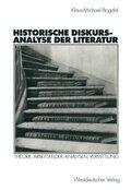 Historische Diskursanalyse der Literatur