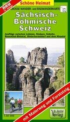Doktor Barthel Karte Sächsisch-Böhmische Schweiz