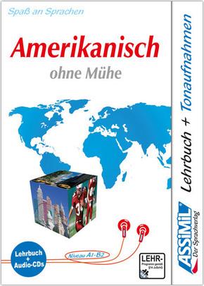 Assimil Amerikanisch ohne Mühe: Lehrbuch und 4 CD-Audio