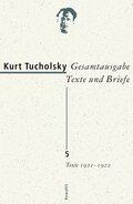 Gesamtausgabe, Texte und Briefe; Texte 1921-1922; Bd.5