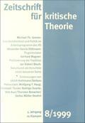 Zeitschrift für kritische Theorie - H.8