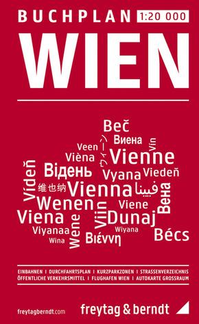 Freytag & Berndt Stadtplan Buchplan Wien