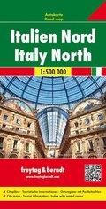 Freytag & Berndt Autokarte Italien Nord; Italy North / Italia Nord / Itálie du Nord / Italia del Norte