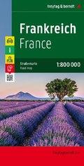 Freytag & Berndt Autokarte Frankreich; France; Frankrijk; Francia