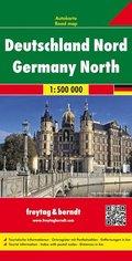 Freytag & Berndt Autokarte Deutschland Nord / Germany North