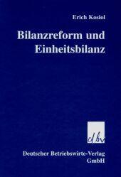 Bilanzreform und Einheitsbilanz
