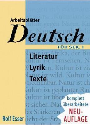 Arbeitsblätter Deutsch für Sek.I, neue Rechtschreibung