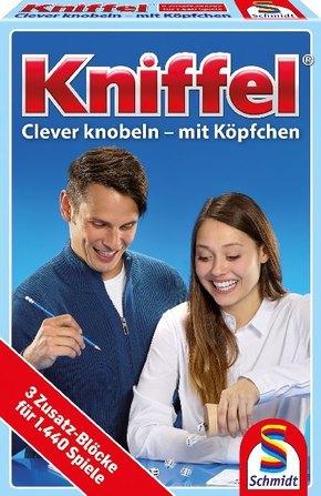 Kniffel, 3 Zusatz-Blocks (Spiel-Zubehör)