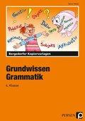 Grundwissen Grammatik, 4. Schuljahr