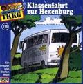 Ein Fall für TKKG - Klassenfahrt zur Hexenburg, 1 CD-Audio