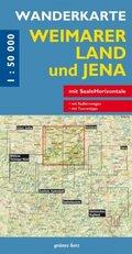 Wanderkarte Weimarer Land und Jena