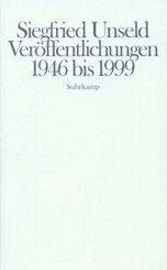 Veröffentlichungen 1946 bis 1999
