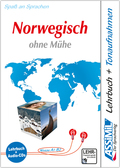 Assimil Norwegisch ohne Mühe: Lehrbuch und 4 Audio-CDs
