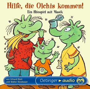 Hilfe, die Olchis kommen!, 1 Audio-CD